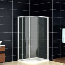 Crown 900mm x 760mm Offset Quadrant Corner Shower Enclosure
